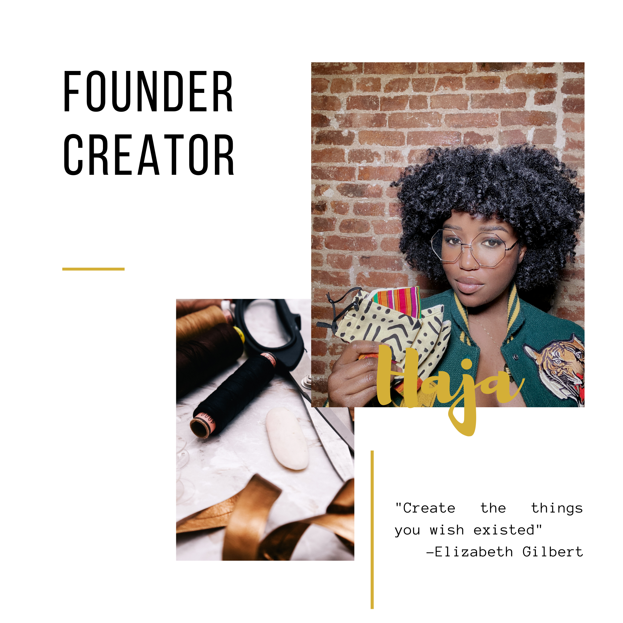 founder creator fashion